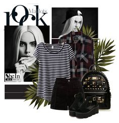 """""""For shein #53"""" by excogitatoris ❤ liked on Polyvore featuring Rails"""