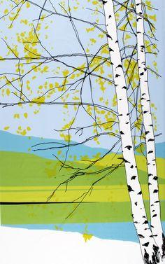Marimekko Kaiku Green / Blue Fabric Repeat  $117.25