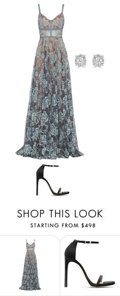 """""""Princess"""" by nodemurelife ❤ liked on Polyvore featuring Alexis, Stuart Weitzman and Effy Jewelry"""