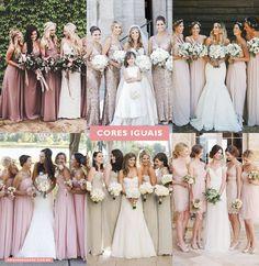 Os vestidos das Madrinhas de casamento. - OMG I'm Engaged