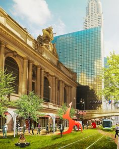 pinkcloud proposes 42nd street greenway to transform new york city