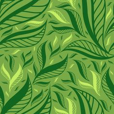green leaves pattern - Google Search Eps Vector, Vector Free, Green Leaves, Plant Leaves, Green Leaf Background, Vector Background, Graphic Art, Spelling Bee, Illustration
