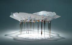 Daniela Forti, glass sculpture