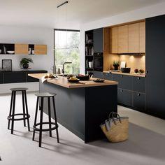 Black Kitchens - Schuller by Artisan Interiors Kitchen Furniture, Black Kitchens, Contemporary Kitchen, Kitchen Cabinet Remodel, Kitchen Room Design, Kitchen Furniture Design, Modern Kitchen Design, Kitchen Style, Kitchen Renovation