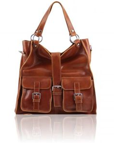 Lady leather bag Honey