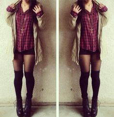 Flannel Shirt Outfit - Heyitsannabanana (instagram)