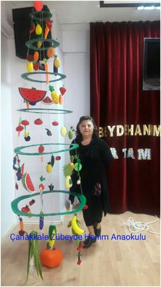 SAGLIKLI SEBZE VE MEYVE AGACIMIZ Healthy Food Activities For Preschool, Preschool Crafts, Activities For Kids, Vegetable Crafts, Healthy Schools, Art For Kids, Crafts For Kids, Bird Nest Craft, Fruit Crafts