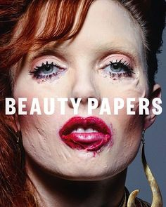 Isamaya Ffrench. Cover, Beauty Papers Magazine, February 2016.