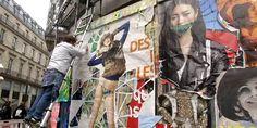Pour la première fois le Ministère de la Culture offre ses vitrines à des street artistes, le temps d'une exposition collective baptisée Oxymores.