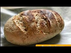 Gluténmentes kenyér készítése lépésről lépésre - YouTube Food Videos, Baked Potato, Bread, Baking, Ethnic Recipes, Youtube, Blog, Brot, Bakken