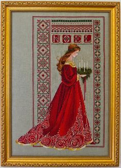 Looking for embroidery project inspiration? Check out Celtic Ladies by member PatriciaLove.