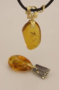Pendants: Gold, Amber and Platinum. #galleriaborghesi - #borghesi.it - #veronaforever - #marcoborghesi - #orodesigns - #prismadiamante