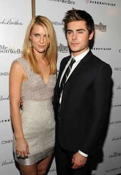 """Claire Danes Photos - Actors Claire Danes and Zac Efron attend a screening of """"Me And Orson Welles"""" hosted by the Cinema Society, Screenvision and Brooks Brothers at Clearview Chelsea Cinemas on November 23, 2009 in New York City. - The Cinema Society Hosts A Screening Of """"Me And Orson Welles"""""""