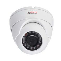 Deals and Offers on Cameras - CP Plus D1000L2A 1MP 12 IR HDCVI Dome Camera at 50% offer
