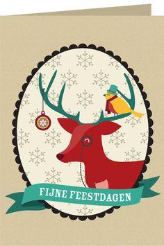 design: Oktober Dots #101kerstkaartencountdown2012 #cards #christmascard #postcard #holidaycards #dutchdesign #101woonideeen #stamps #kerstkaarten
