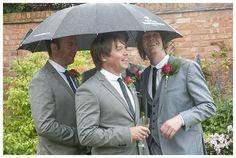 Rainy wedding day inspiration