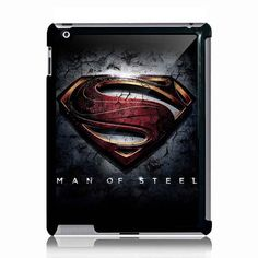 Superman Logo  Apple Ipad 2 or Ipad 3 Black Case by NadiyaHomemade, $21.99