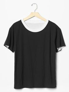 Double-knit tee Product Image