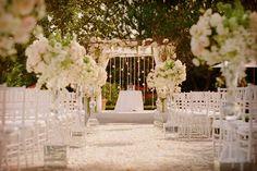 Ideas para la decoración de la ceremonia de la boda #bodas #ElBlogdeMaríaJosé #decoraciónboda #ceremoniaboda