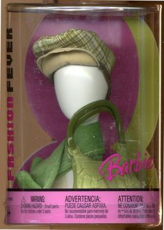 Barbie Fashion Fever Shopping Boutique Green Accessories New | eBay