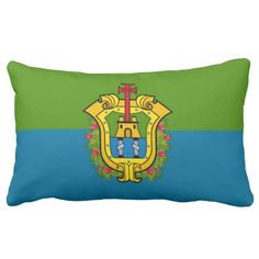 Flag Of #PortoDeVeracruz ( #Mexico ) Pillows