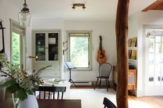 A Corner For Music Making In This Olympia Cottage On Design*Sponge