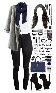 """don't even."" by dyciana ❤ liked on Polyvore featuring Yves Saint Laurent, MAC Cosmetics, Christian Louboutin, Fendi, MANGO, Converse, BBrowBar, NARS Cosmetics, Chanel and Illamasqua"