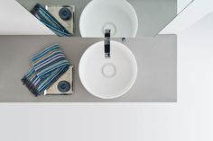 ARKE' washbasin | david dolcini STUDIO | Arlexitalia #bathdesign #washbasin #sink #daviddolcini #arlexiitalia #tecnoril