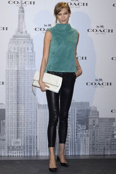 Karlie Kloss in Coach