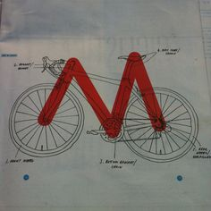 """Great pin. My saddle to handlebar drop has been decreased while I PT a chronic knee, shoulder and back issue.  This is a nice Geometry overall for many road cyclicst.  Most important have your bike fitted to your comfort at your LBS,  This year i changed saddles for the year and my RM Road Bike is at a true """" M"""" angle.   New pedals for a year as well."""