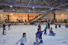 Ice Skating is really fun, do you agree? .. #Sharjah #Alshaabvillage #UAE #IceSkating #Fun