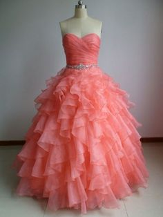 This is what my prom dress looks like, but the color of my dress is light pink :) love it!