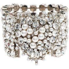 Miu Miu Bracelet ($495) ❤ liked on Polyvore featuring jewelry, bracelets, accessories, miu miu, fillers, miu miu jewelry, bracelet jewelry, nickel free jewelry and polish jewelry