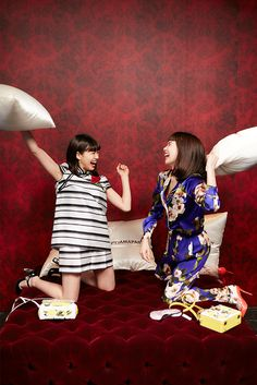 【スナップ】加藤ミリヤや二階堂ふみらの深夜の女子会 「ドルチェ&ガッバーナ」がパジャマ・パーティーを開催 | SNAP | WWD JAPAN.COM