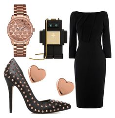 """""""Untitled #11"""" by daniii301 ❤ liked on Polyvore featuring MCM, Ted Baker and GUESS"""