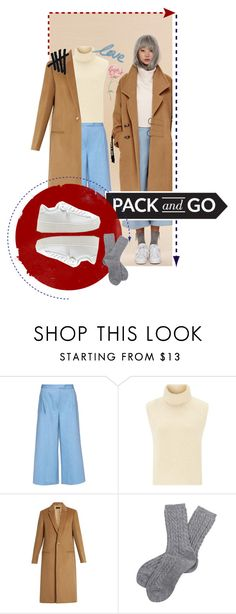 """""""turn my swag on"""" by thermohalia on Polyvore featuring мода, Osman, Étoile Isabel Marant, Joseph, Barbour, coat, korean, sneackers и koreanstyle"""