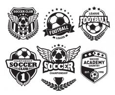 Find Soccer Football Badge Logo Design Template stock images in HD and millions of other royalty-free stock photos, illustrations and vectors in the Shutterstock collection.