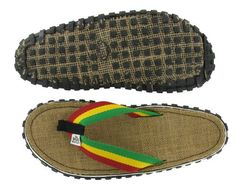 b49fa5b716ade Bob Marley Fresco Men s Flip Flops Sandals Rasta Print Size 10