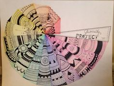 Pythagorean Spiral Geometry Project || 2015