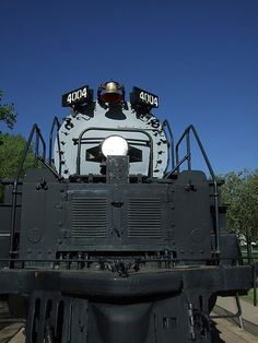 "Union Pacific ""Big Boy"" Locomotive # 4004, Cheyenne, Wyoming"