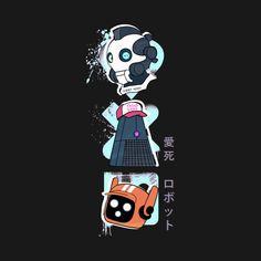 Love death and robots three robots by tshirtguild Robot Wallpaper, Fanart, Scott Pilgrim, Fandoms, Pokemon, Cyberpunk Art, Glitch Art, Cool Animations, Science Fiction Art
