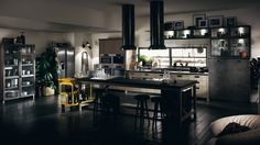Great kitchens for party hosting! Social design by @Diesel 4 ...