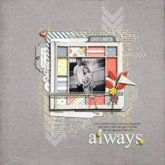 love you for always - Digital Scrapbooking Ideas - DesignerDigitals