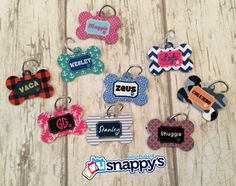 The Funky Monkey Giveaway: Snappy's Boutique Personalized Dog Tag - 3 WINNERS!  Ends 6.9.14