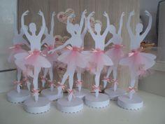 Risultati immagini per bailarina tutu decoraçao Ballerina Birthday Parties, Ballerina Party, 1st Birthday Parties, Shower Party, Baby Shower Parties, Ballet Crafts, Fairy Dolls, Childrens Party, Princess Party