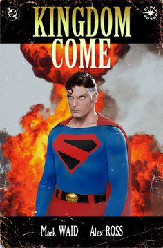 Kingdom Come Christopher Reeves' Superman Covers by Philip Postma