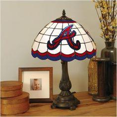 Atlanta Braves Tiffany Table Lamp - $149.99