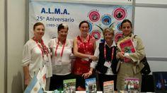 29th Conferencia Internacional del Alzheimer en San Juan de Puerto Rico con Selva Marasco, Maria del Carmen Diaz y Noemi Medina de la Asociación de la Lucha contra el mal de #alzheimer y alteraciones semejantes de la Republica Argentina. #ADI2014