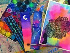 Dany hoyos art you tube Watercolor And Ink, Watercolor Paintings, Watercolors, Dibujos Zentangle Art, Rock Crafts, Cool Posters, Painting For Kids, Art Drawings, Colors