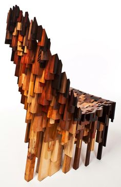 "ufansius: ""Roccapina V chair - Ian Spencer and Cairn Young, aka Yard Sale Project """